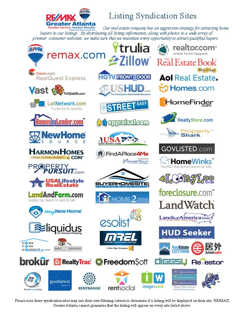 Remax Syndication Sites
